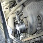987のブローバイオイル 車検整備