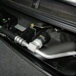 空冷車のエアコン