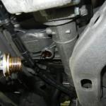 エンジンオイルのドレンボルト