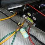 エアコンコンプレッサーの潤滑