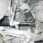 997C4のドライブシャフト