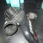 ポルシェ 964 車検整備 エンジンルームのモーター